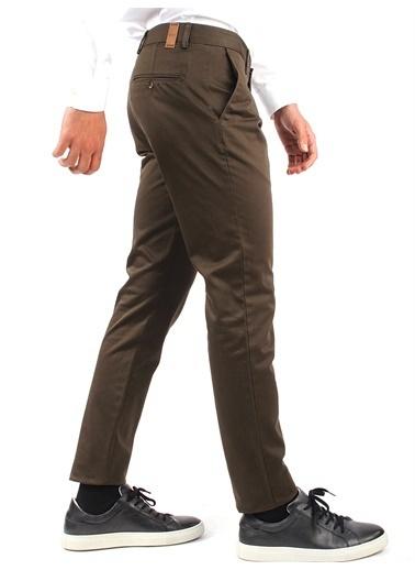 Dufy Sıyah Erkek Pantolon - Slım Fıt Haki